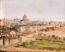 Édouard-Jacques DUFEU (1836-1900) Vue de Rome