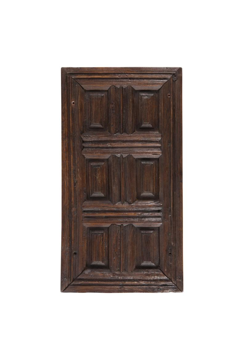 petite porte rectangulaire louis xiii en bois naturel rythm. Black Bedroom Furniture Sets. Home Design Ideas