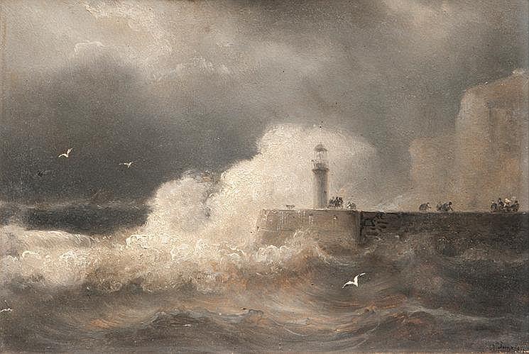 Jean Marie Auguste JUGELET (1805-1875) Marine