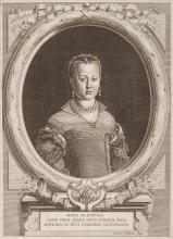 ( MEDICIS â?? ITALIE ). - Regiæ familiæ Mediceorum Etruriæ principum effigies Sans lieu, sans date,( Florence, vers 1760 ) In-folio, Plein velin, dos a nerfs.