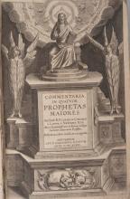 ( RELIGION ) CORNELIUS A LAPIDE (Cornelius). â?? Commentaria in quatuor Prophetas Majores (...) Postrema editio aucta et recognita ( Anvers ) Antuerpae,
