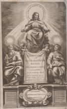 ( RELIGION ) CORNELIUS A LAPIDE (Cornelius). â?? Commentaria in Ecclesiasticum ( Anvers ) Antuerpae, Apud Joannem Meursium, 1643. In-fol. (4)-1040p-