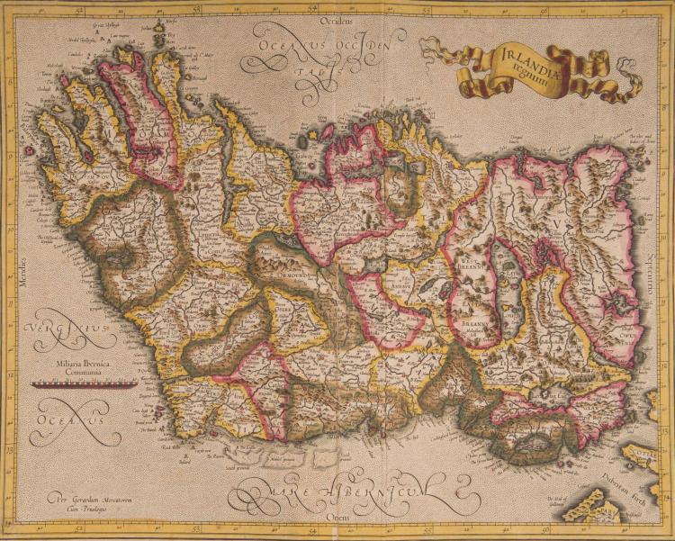 LES ANGLO-NORMANDES   Irlandia regnum 41 x 32,5