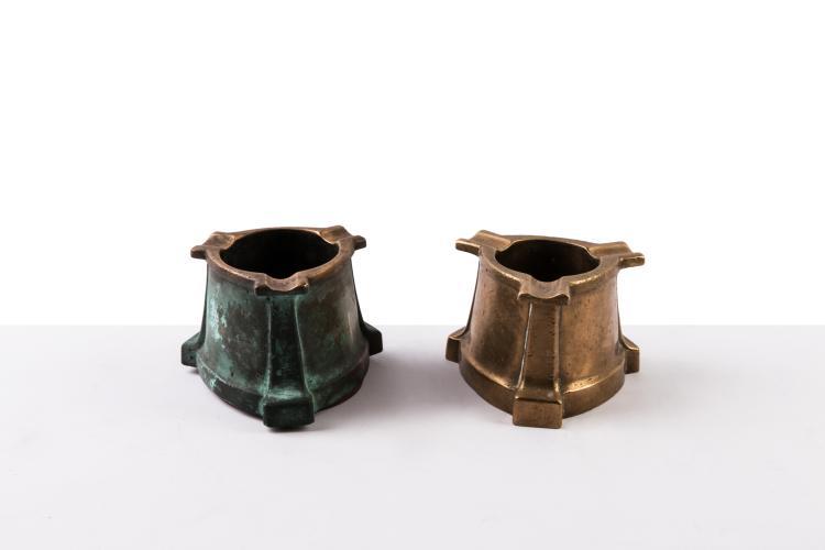 Compagnie des Messageries Maritimes   1 cendrier bronze.