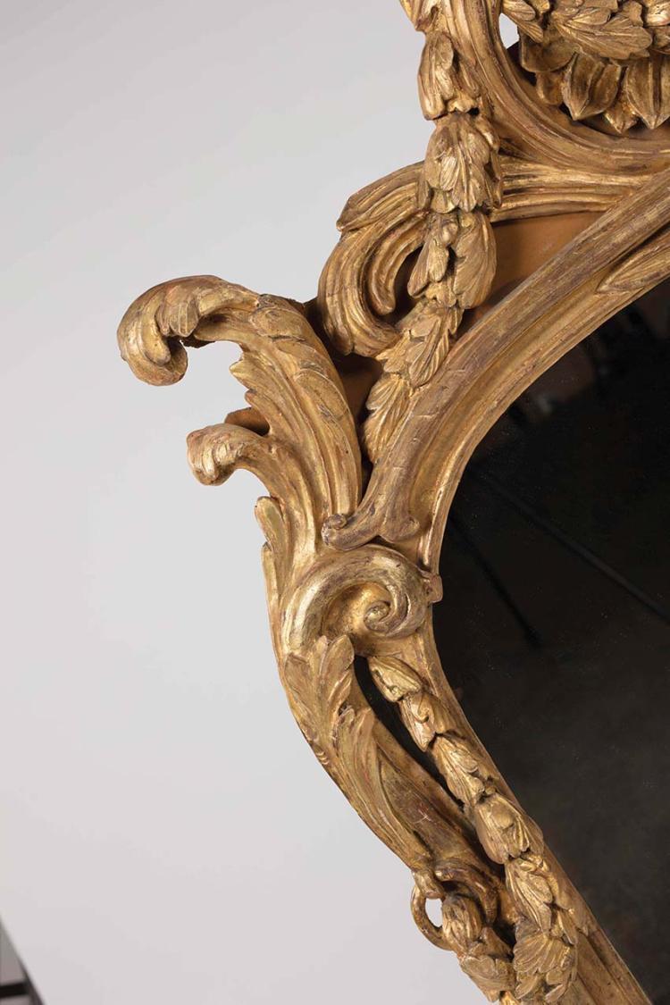 Miroir en bois dore - Miroir ancien bois dore ...