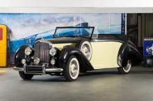Bentley Mark VI cab. Park Waed 1949