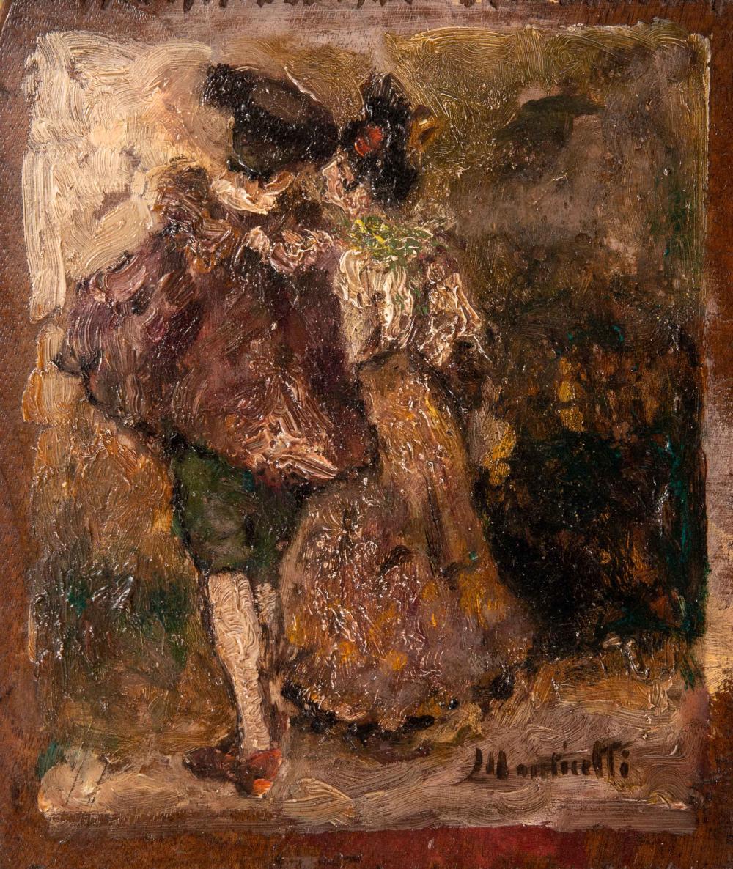 Sold Price: Adolphe MONTICELLI (1824-1886) Scène galante - June 6, 0119  2:30 PM CEST