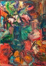Antoine FERRARI (1910-1995) Bouquet et fruits