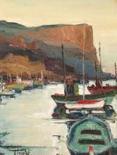 Jean TRIOLET (1939) La falaise de Cassis