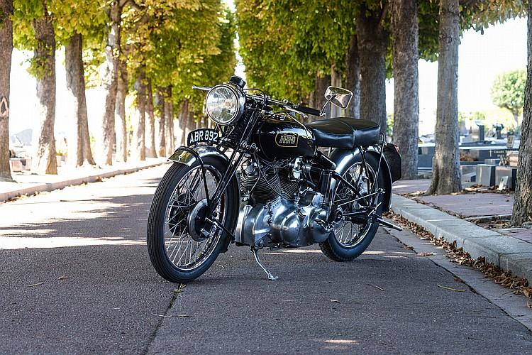 HRD Vincent - 1000 Rapide - Année : - 1949 -