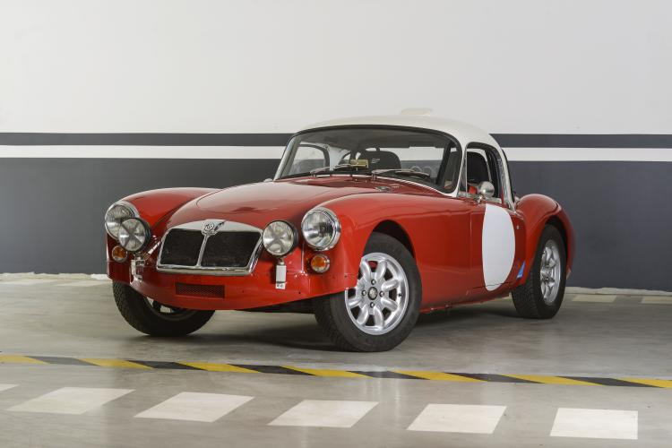 MG MGA COUPE 1959