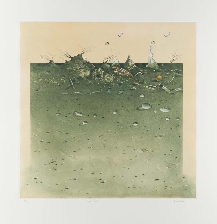 Hiroshi ASADA.   L' Horizon.
