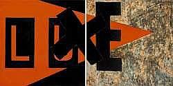 Jean-Louis DELBES (1954) - Luxe 1 et 2, 1987.