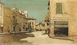 Alfred CASILE (1848-1909) - Esquisse du tableau