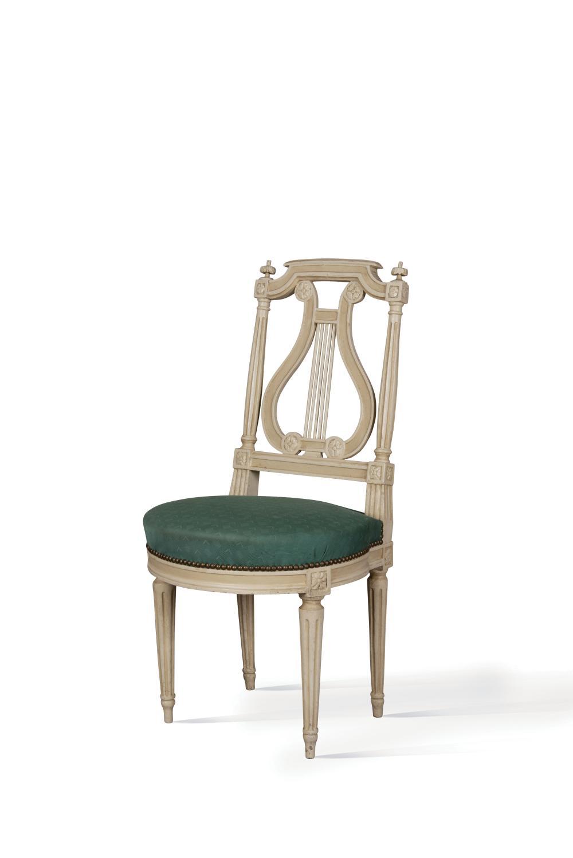 Chaise En Bois Repeinte chaise cannÉe