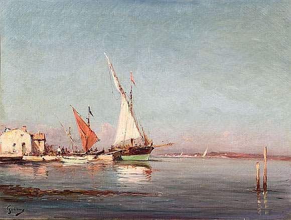 Alfred GODCHAUX (1835-1895) - Paysages aux