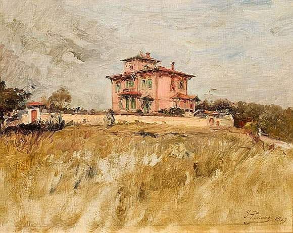 IGNACIO PINAZO CAMARLENCH (1849-1916) - Maison de