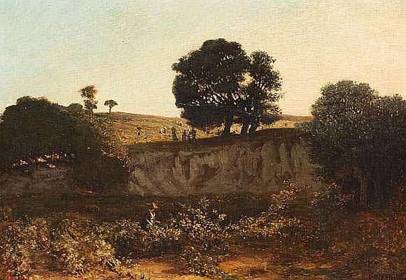 Prosper GRESY (1804-1874) - Les travaux des