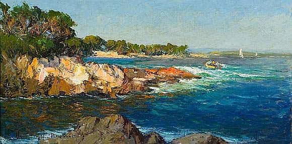 Jacques VAN DEN BUSSCHE (1852-1975) - Entre Cassis
