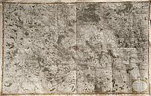 Charles PIQUET (XIX) Carte des environs de Paris par Charles Piquet. Dédié au 1° Consul Bonaparte,tiré de l'atlas de G Coutans.