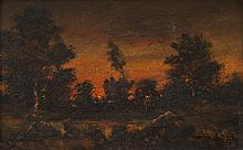 Narcisse DIAZ de la PENA (1807-1876)  Paysage