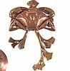 MAURICE DAURAT (1880-1969)   Presse-papiers en bronze à décor de crabe et d'algue. Vers 1910.   Signé., Maurice Daurat, Click for value