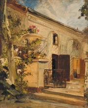 ÉDOUARD-JACQUES DUFEU (1836-1900) Le jardinage