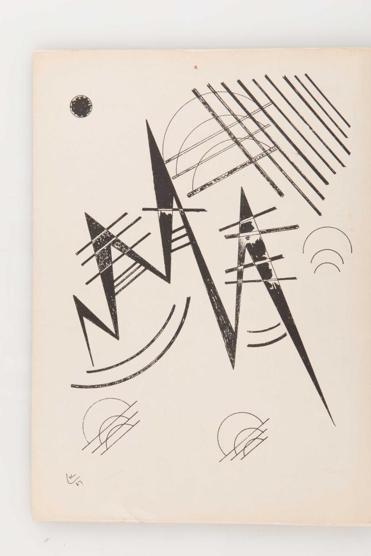Derriere le miroir kandinsky 1921 1927 paris maeght ed for Maeght derriere le miroir
