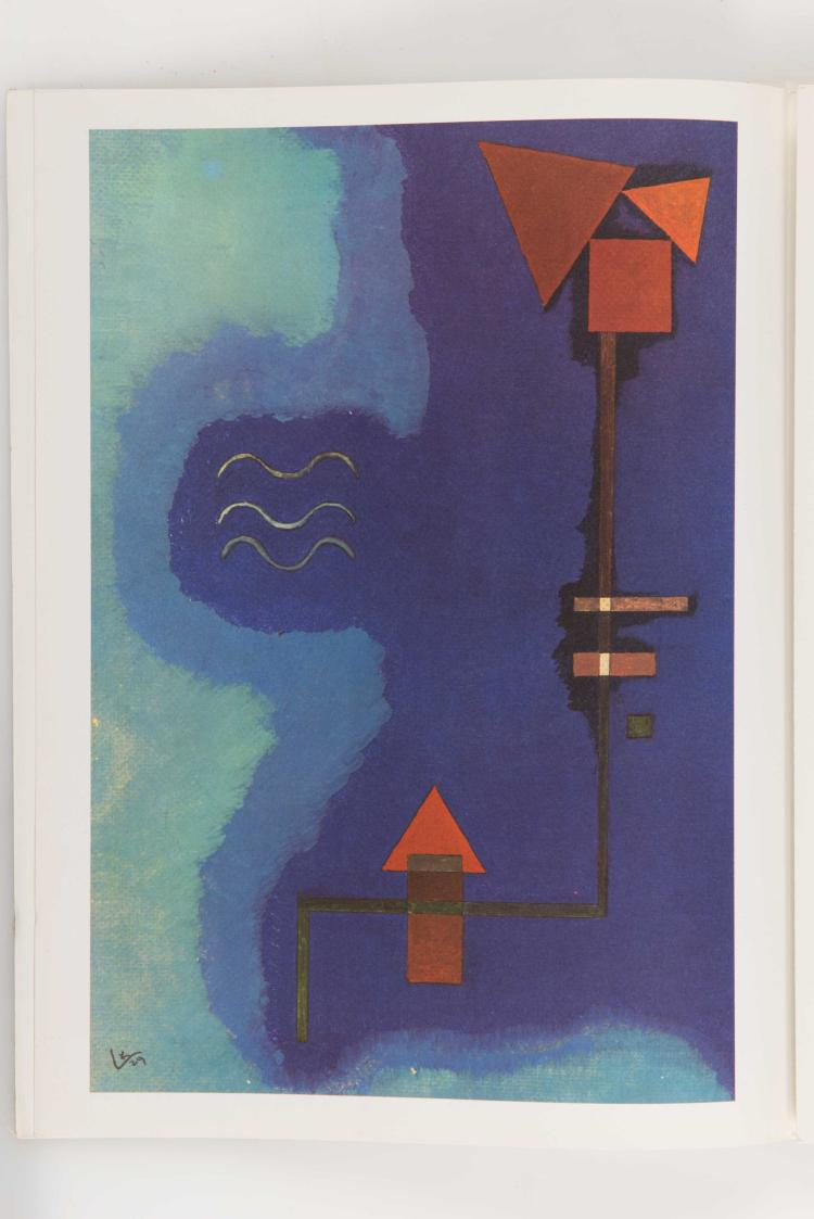 Derriere le miroir kandinsky bauhaus de dessau 1927 193 for Maeght derriere le miroir
