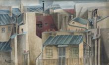 GOTTLIEB MICHAEL ARAM (Autriche 1908 – Paris 1998) Toits de Paris