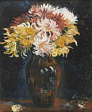 José MANGE (1866-1935) Bouquet de fleurs.