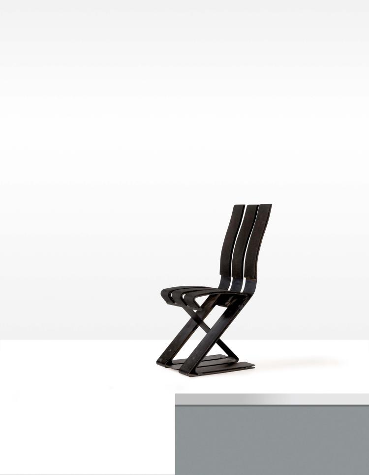 ron arad 1951 chaise dite school chair. Black Bedroom Furniture Sets. Home Design Ideas