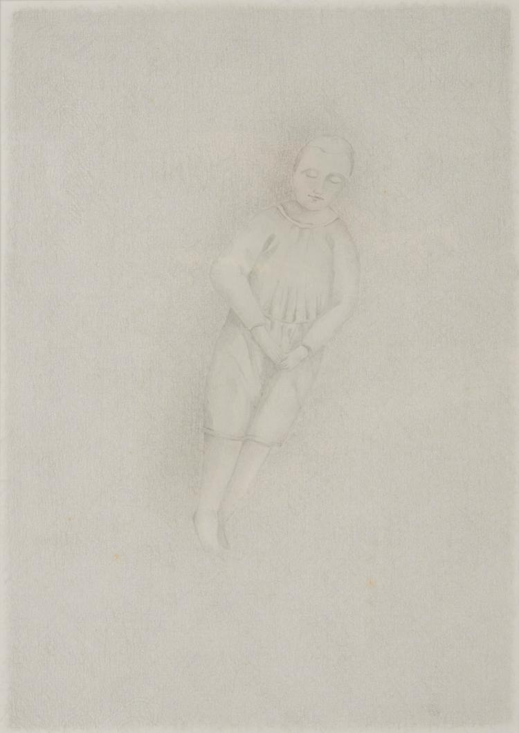 GIUSEPPE CACCAVALE (ITA/1960)  Sans titre, ca. 2000 Graphite sur papier 28,5 x 41,5 cm