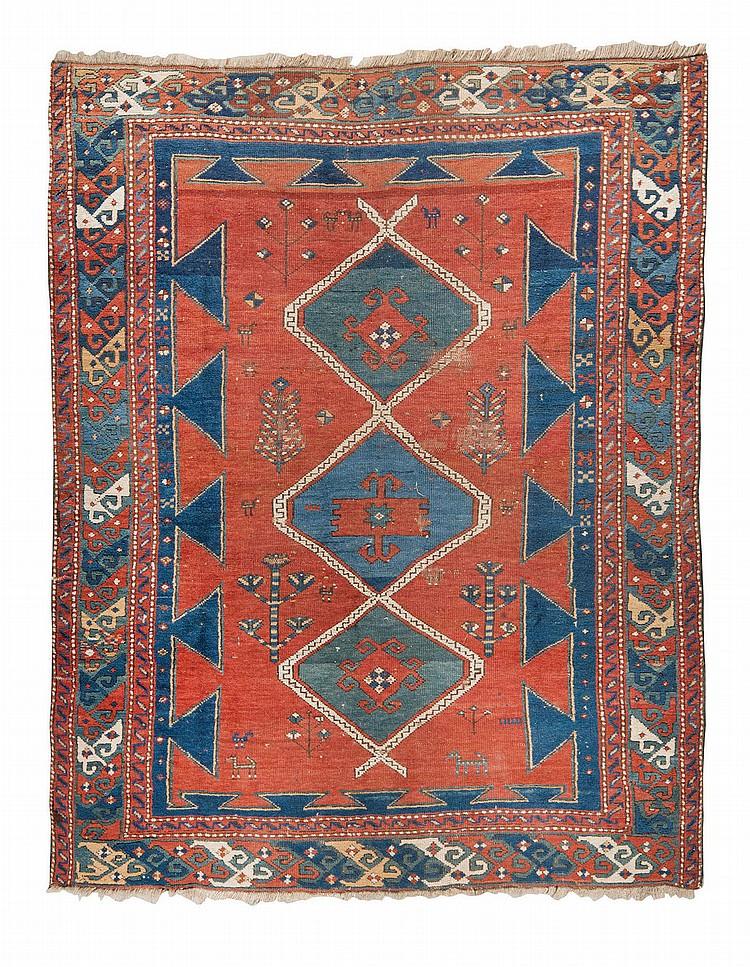 tapis kazak bordjalou sud ouest du caucase kazak. Black Bedroom Furniture Sets. Home Design Ideas