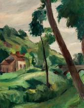 CHARLES KVAPIL (1884-1957) - Paysage