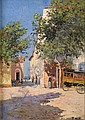 François NARDI (1861-1936)Ruelle animée à Toulon.Huile sur toile.Signée en bas à droite.47 x 33 cm., François Nardi, Click for value