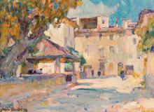Jean AUBERY (1880-?) Lavoir.