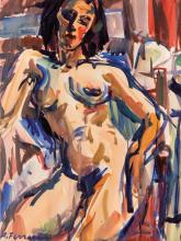 Antoine FERRARI (1910-1995) Femme nue.