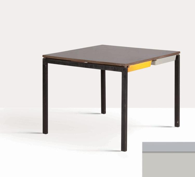 charlotte perriand 1903 1999 table. Black Bedroom Furniture Sets. Home Design Ideas