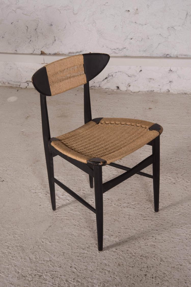 Travail scandinave paire de chaises - Chaises cocktail scandinave ...