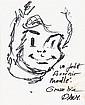 OLIVIER RAMEAU (Dany et Greg ) Lot de 3 albums. La trompette du silence. Dargaud, 1978. Edition Originale. Dessins Original de l'illustrateur en page de garde, un dessin sur une page volante, 4 cartes noir et blanc de personnages de l'illustrateur