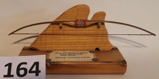 Mini longbow for Mini crossbow fishing