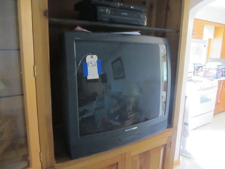 Magnavox TV with Symphonic VCR