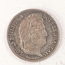 1/4 de franc