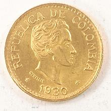 5 Pesos / Colombia