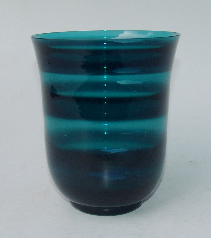 Floris Meydam, Leerdam /Holland: Vase, Farbglas, 60er Jahre