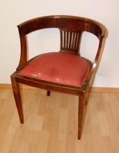 Sessel im Stil des Klassizismus, um 1900