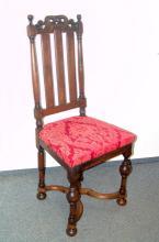 Niederländischer Stuhl des Barock, 18.Jhd.