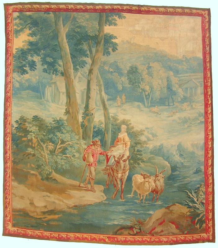 Tapisserie/Gobelin Brüssel ca. um 1700