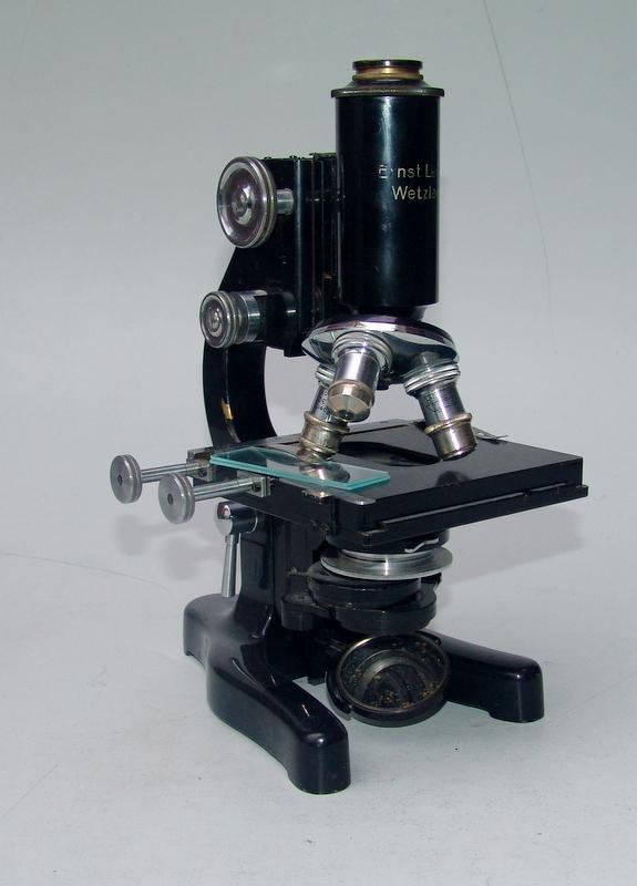 Mikroskop Carl Zeiss, Jena